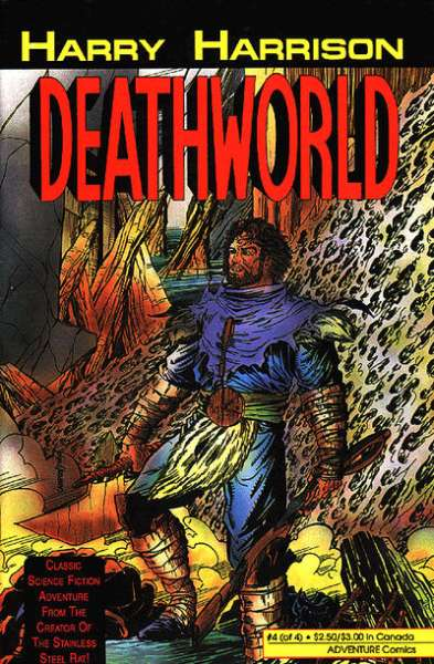 Deathworld #4 comic books for sale