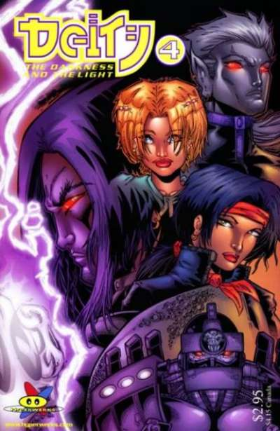 Deity: The Darkness and the Light #4 comic books for sale