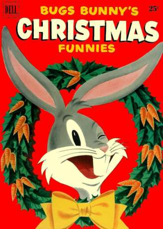 Dell Giant Comics: Bugs Bunny's Christmas Funnies #2 comic books - cover scans photos Dell Giant Comics: Bugs Bunny's Christmas Funnies #2 comic books - covers, picture gallery