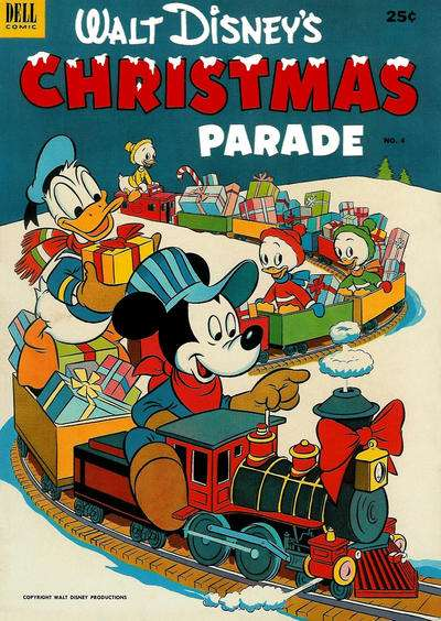 Dell Giant Comics: Christmas Parade #4 comic books for sale