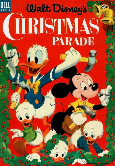 Dell Giant Comics: Christmas Parade #5 comic books for sale