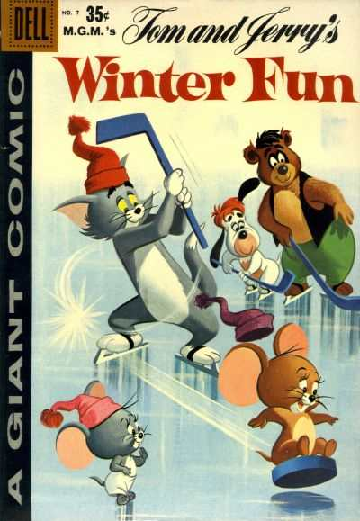 Dell Giant Comics: Tom & Jerry Winter Fun #7 Comic Books - Covers, Scans, Photos  in Dell Giant Comics: Tom & Jerry Winter Fun Comic Books - Covers, Scans, Gallery