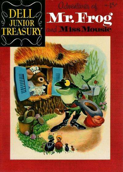 Dell Junior Treasury #4 comic books for sale