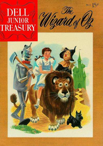 Dell Junior Treasury #5 comic books for sale