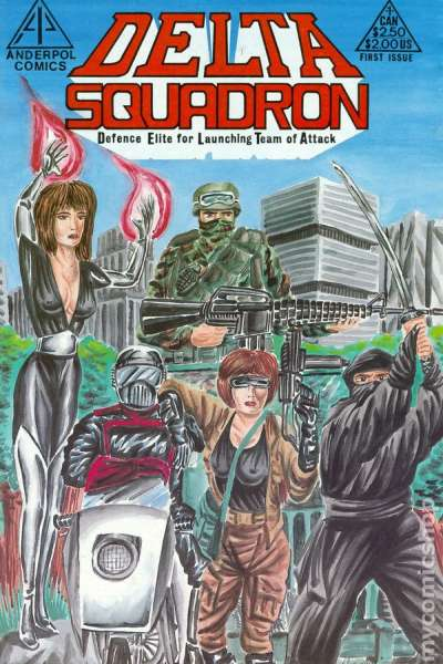 Delta Squadron #1 comic books for sale