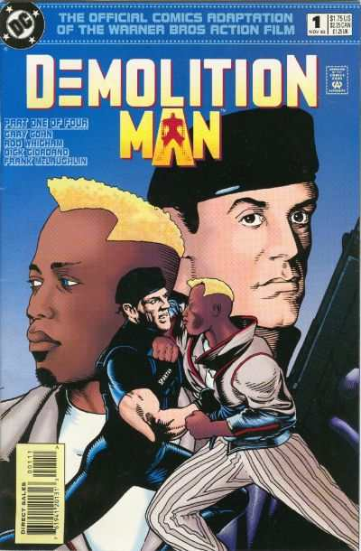 Demolition Man #1 comic books - cover scans photos Demolition Man #1 comic books - covers, picture gallery