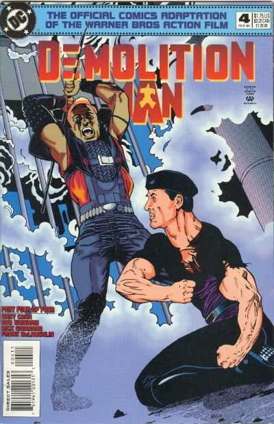 Demolition Man #4 comic books - cover scans photos Demolition Man #4 comic books - covers, picture gallery