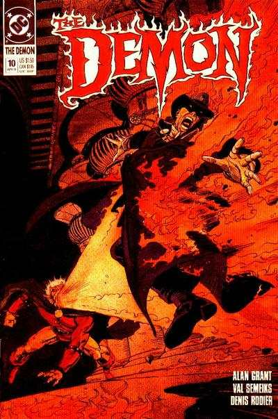 Demon #10 Comic Books - Covers, Scans, Photos  in Demon Comic Books - Covers, Scans, Gallery