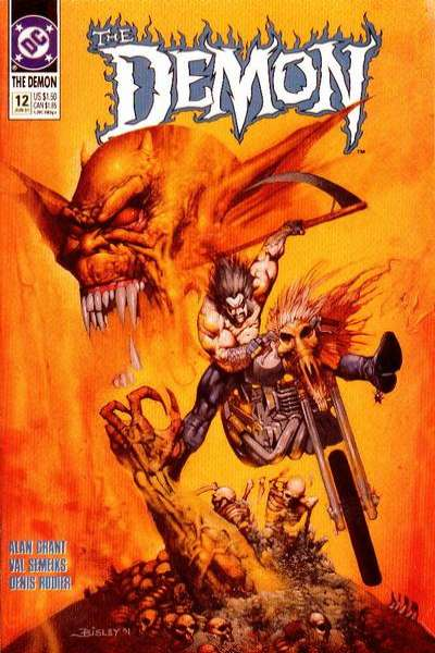 Demon #12 Comic Books - Covers, Scans, Photos  in Demon Comic Books - Covers, Scans, Gallery
