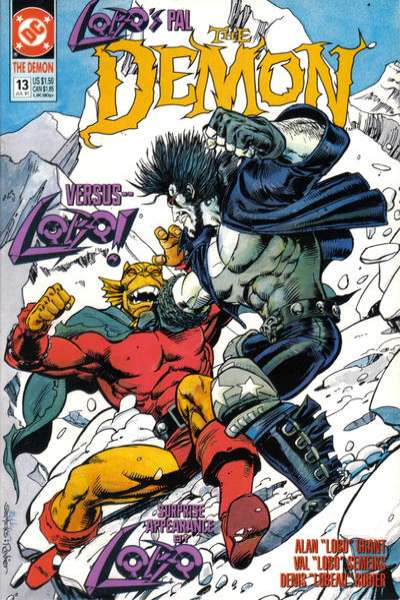 Demon #13 Comic Books - Covers, Scans, Photos  in Demon Comic Books - Covers, Scans, Gallery