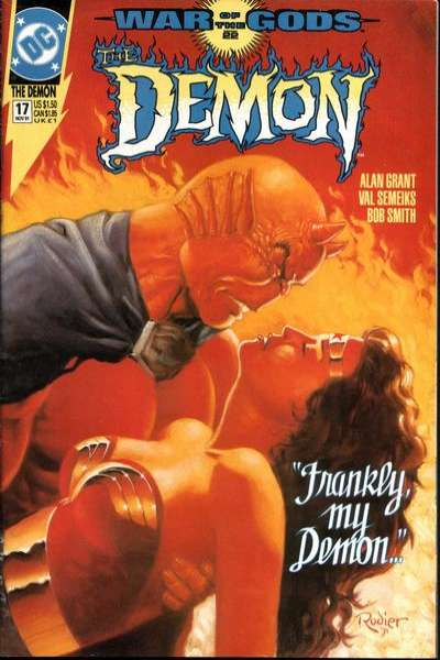 Demon #17 Comic Books - Covers, Scans, Photos  in Demon Comic Books - Covers, Scans, Gallery