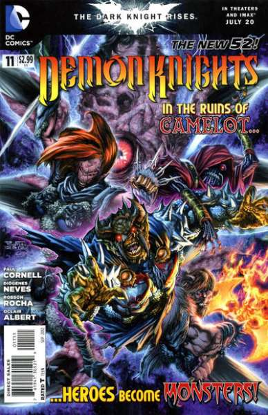 Demon Knights #11 Comic Books - Covers, Scans, Photos  in Demon Knights Comic Books - Covers, Scans, Gallery
