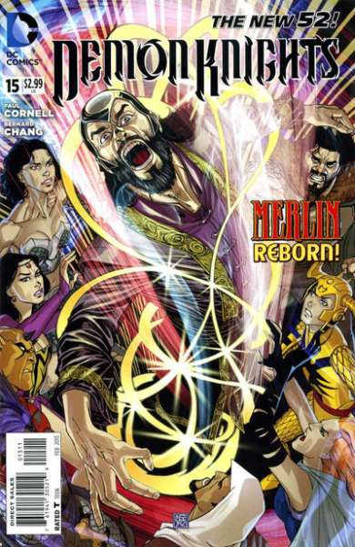 Demon Knights #15 Comic Books - Covers, Scans, Photos  in Demon Knights Comic Books - Covers, Scans, Gallery