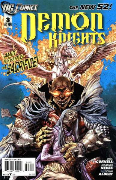 Demon Knights #3 Comic Books - Covers, Scans, Photos  in Demon Knights Comic Books - Covers, Scans, Gallery