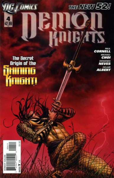 Demon Knights #4 Comic Books - Covers, Scans, Photos  in Demon Knights Comic Books - Covers, Scans, Gallery