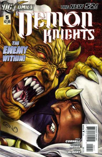 Demon Knights #5 Comic Books - Covers, Scans, Photos  in Demon Knights Comic Books - Covers, Scans, Gallery