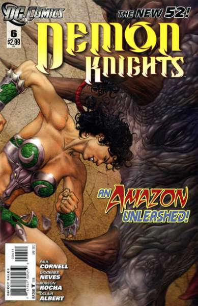 Demon Knights #6 comic books - cover scans photos Demon Knights #6 comic books - covers, picture gallery