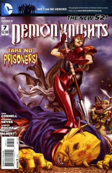 Demon Knights #7 Comic Books - Covers, Scans, Photos  in Demon Knights Comic Books - Covers, Scans, Gallery