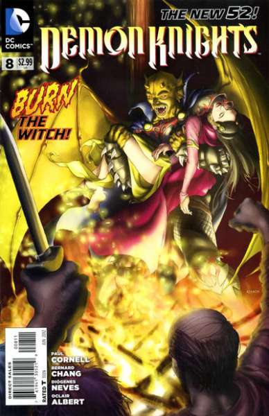 Demon Knights #8 comic books for sale