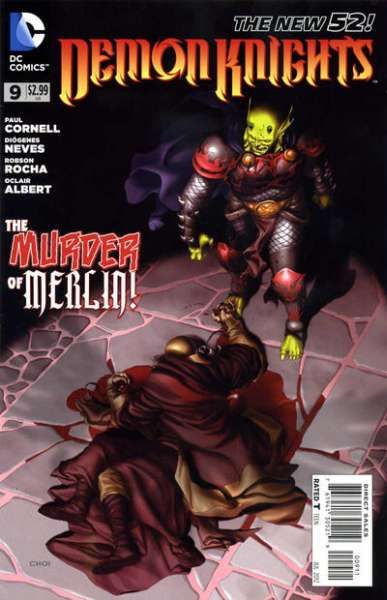Demon Knights #9 Comic Books - Covers, Scans, Photos  in Demon Knights Comic Books - Covers, Scans, Gallery