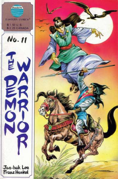 Demon Warrior #11 comic books for sale