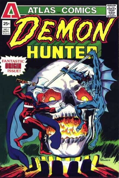 Demon-Hunter Comic Books. Demon-Hunter Comics.