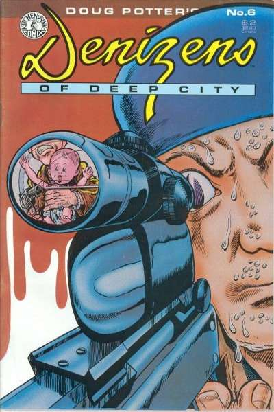 Denizens of Deep City #6 comic books for sale