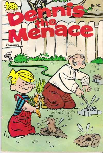 Dennis the Menace #102 Comic Books - Covers, Scans, Photos  in Dennis the Menace Comic Books - Covers, Scans, Gallery