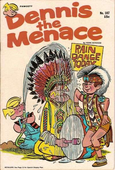 Dennis the Menace #107 comic books - cover scans photos Dennis the Menace #107 comic books - covers, picture gallery