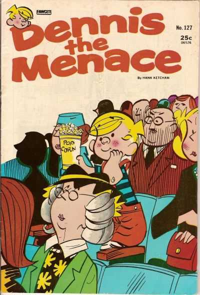 Dennis the Menace #127 comic books for sale