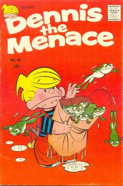 Dennis the Menace #44 comic books - cover scans photos Dennis the Menace #44 comic books - covers, picture gallery