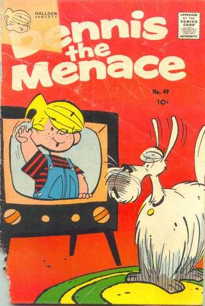 Dennis the Menace #49 Comic Books - Covers, Scans, Photos  in Dennis the Menace Comic Books - Covers, Scans, Gallery