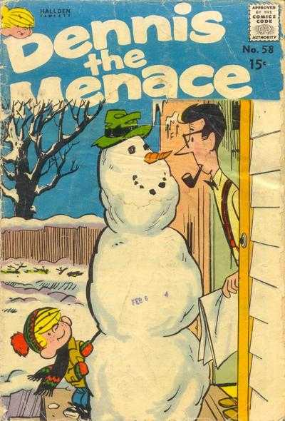 Dennis the Menace #58 Comic Books - Covers, Scans, Photos  in Dennis the Menace Comic Books - Covers, Scans, Gallery
