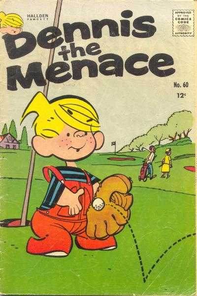Dennis the Menace #60 comic books - cover scans photos Dennis the Menace #60 comic books - covers, picture gallery