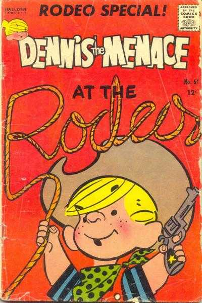 Dennis the Menace #61 Comic Books - Covers, Scans, Photos  in Dennis the Menace Comic Books - Covers, Scans, Gallery