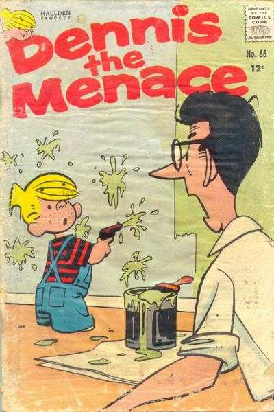 Dennis the Menace #66 Comic Books - Covers, Scans, Photos  in Dennis the Menace Comic Books - Covers, Scans, Gallery