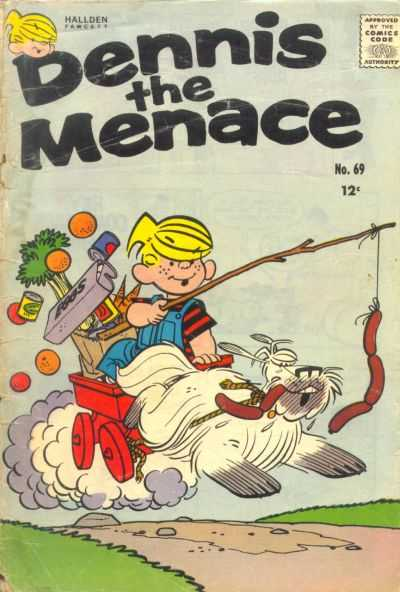 Dennis the Menace #69 comic books - cover scans photos Dennis the Menace #69 comic books - covers, picture gallery