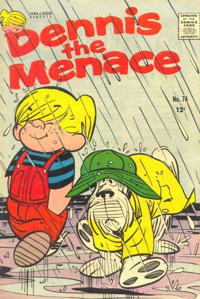 Dennis the Menace #76 comic books - cover scans photos Dennis the Menace #76 comic books - covers, picture gallery