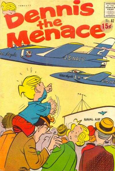 Dennis the Menace #82 Comic Books - Covers, Scans, Photos  in Dennis the Menace Comic Books - Covers, Scans, Gallery