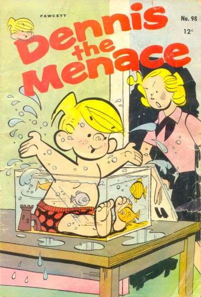 Dennis the Menace #98 comic books - cover scans photos Dennis the Menace #98 comic books - covers, picture gallery