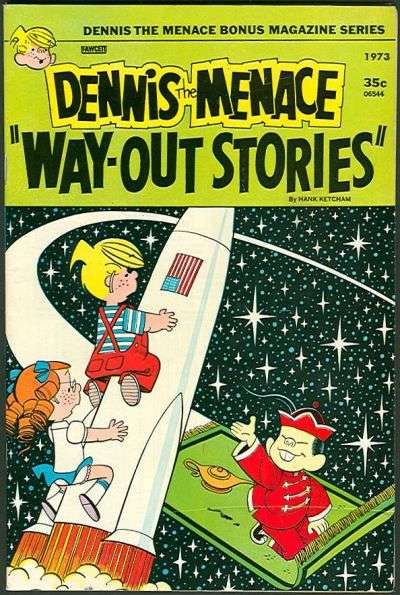 Dennis the Menace Bonus Magazine #121 comic books for sale