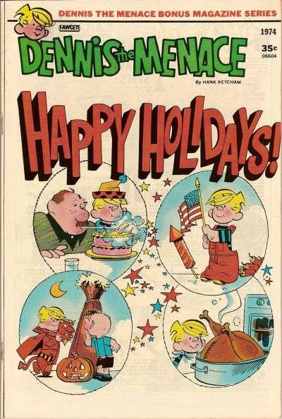 Dennis the Menace Bonus Magazine #124 comic books for sale