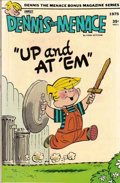 Dennis the Menace Bonus Magazine #137 comic books - cover scans photos Dennis the Menace Bonus Magazine #137 comic books - covers, picture gallery