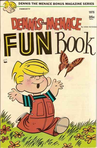 Dennis the Menace Bonus Magazine #138 comic books for sale