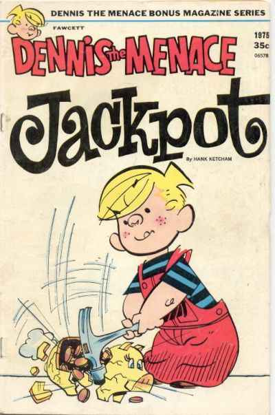Dennis the Menace Bonus Magazine #139 comic books for sale