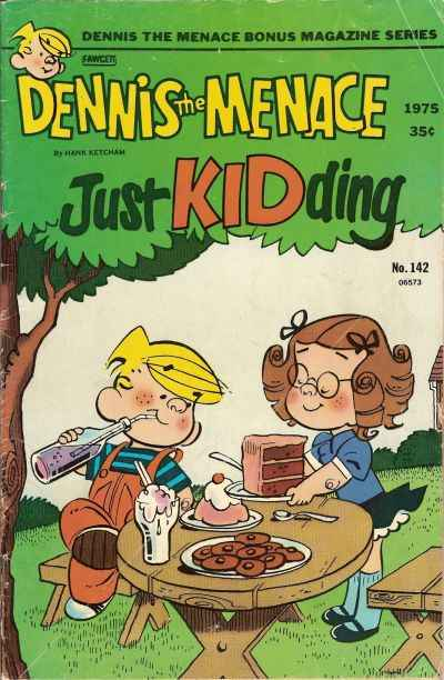 Dennis the Menace Bonus Magazine #142 comic books for sale