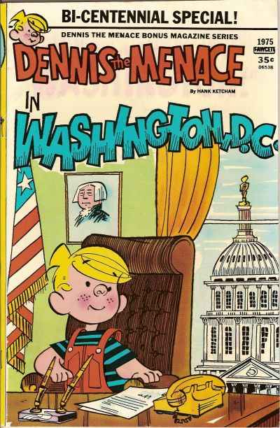 Dennis the Menace Bonus Magazine #144 comic books for sale