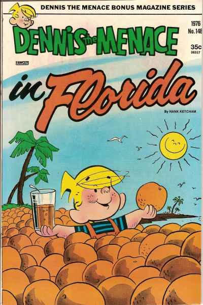 Dennis the Menace Bonus Magazine #148 comic books for sale
