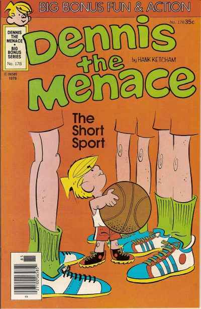 Dennis the Menace Bonus Magazine #178 Comic Books - Covers, Scans, Photos  in Dennis the Menace Bonus Magazine Comic Books - Covers, Scans, Gallery