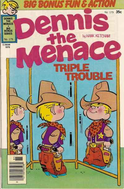 Dennis the Menace Bonus Magazine #179 comic books for sale